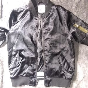 Zine bomber jacket